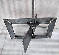 Задвижка печная, дымохода, поворотная, средняя, засов, шибер 210х120.
