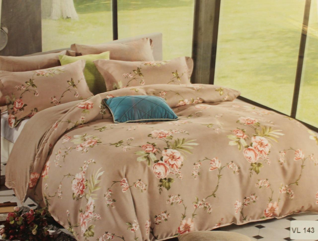 Комплект постельного белья евро микровелюр Vie Nouvelle Velour 200х220  VL143