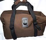 Дорожная и городская синяя сумка с разъемом USB 47*26 см, фото 2