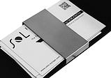 Визитница карманная для карточек с зажимом, фото 4