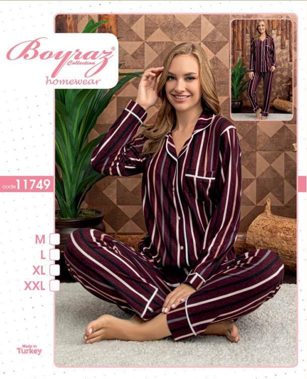 Пижама женская байка 11749 Boyraz