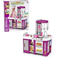 Детская игровая кухня Kitchen Chef 922-47 с холодильником, водой и аксессуарами (72,5x61x33 см)