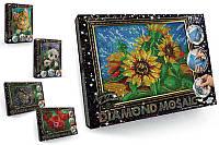 """Набір креативної творчості """"Алмазная живопись DIAMOND MOSAIC"""" малий DM-02-01,02,03,04...10 DANKO"""