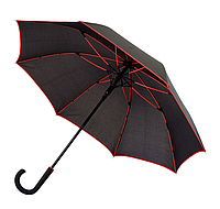 Зонт трость механический с усиленными спицами 104см купол, фото 1
