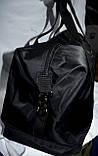 Женская дорожная и городская синяя сумка 48*30 см, фото 2