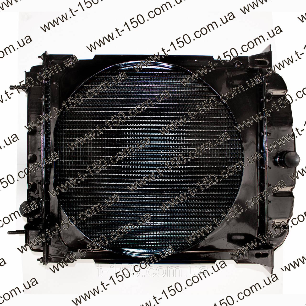 Радиатор водяного охлаждения ЮМЗ нового образца медная сердцевина, железные бачки с диффузором, 45-1301.006-А