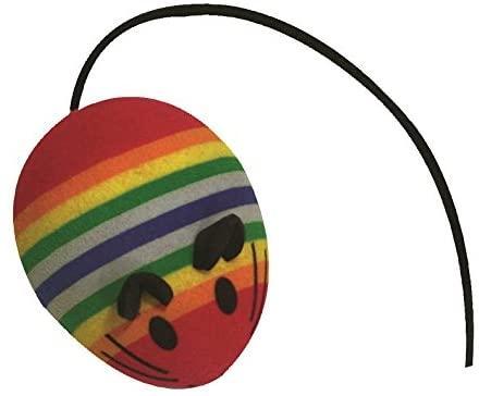 Игрушка для котов CROCI. Мышь-зефирный мяч 4,5 см (3шт/уп)