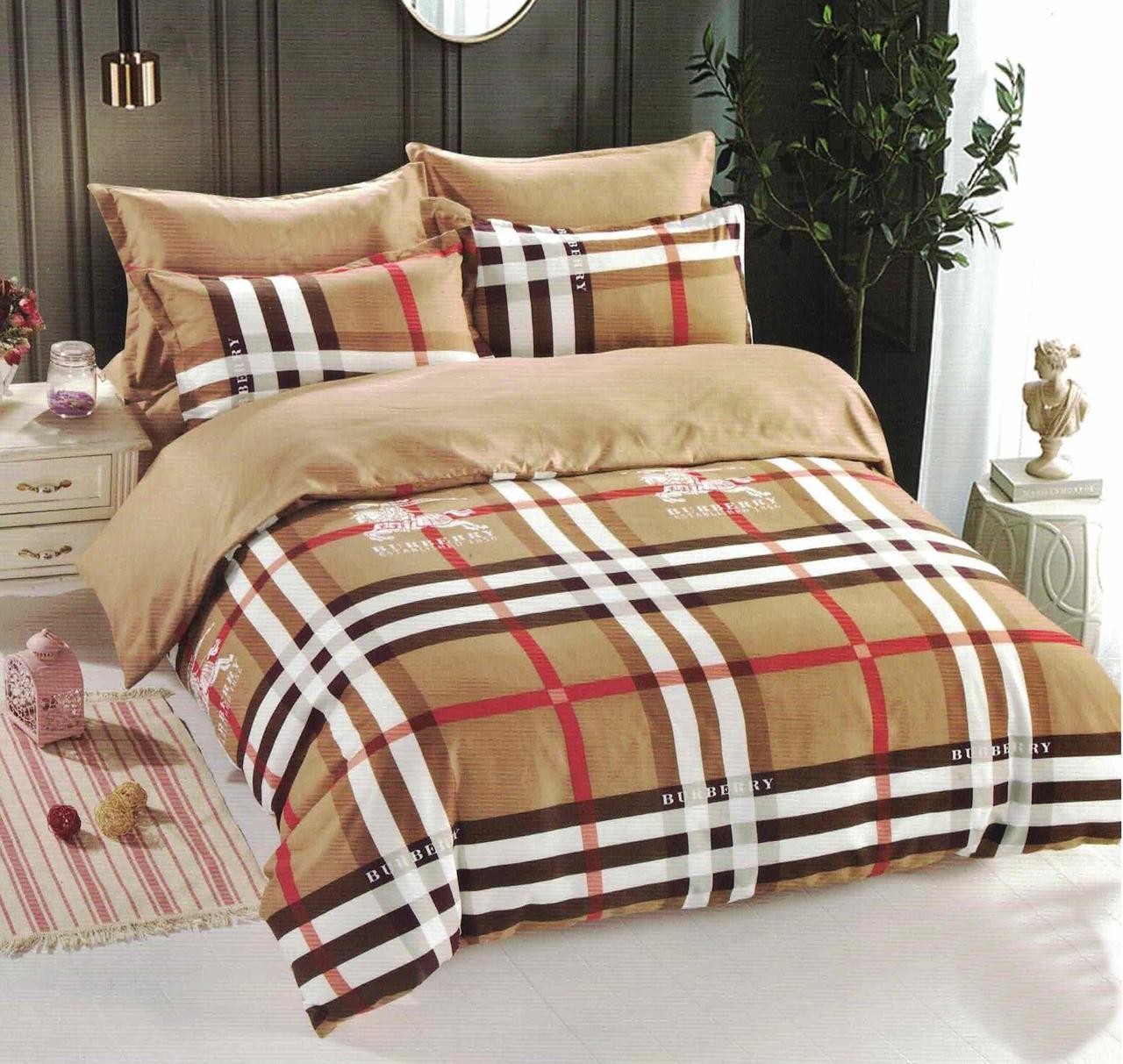 Комплект постельного белья евро микровелюр Vie Nouvelle Velour 200х220  VL149