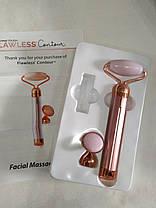 Электрический ролик - массажер для лица Flawless Contour, фото 3