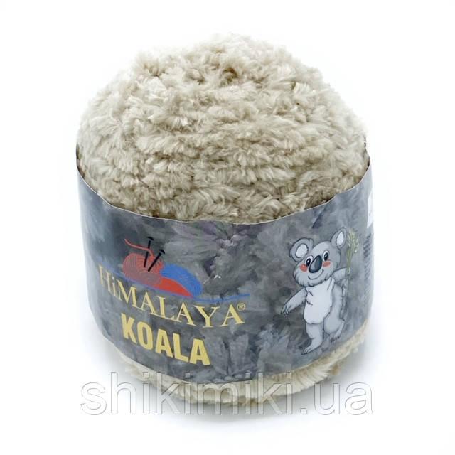 Пряжа велюровая Himalaya Koala, цвет  Бежевый