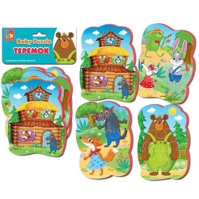 Мягкие беби пазлы Теремок Vladi Toys SKL11-219360