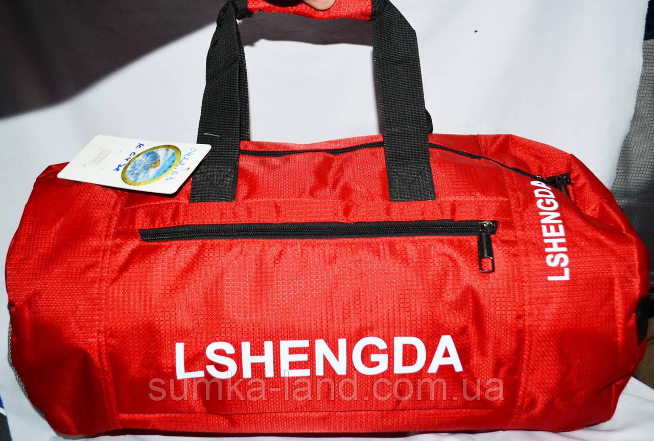 Дорожная и городская красная сумка 50*25 см