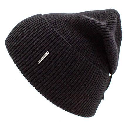 Шапка мужская Leks Лофт черная        ( 20656835 m ), фото 2