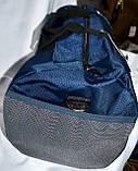 Дорожная и городская черная сумка 50*25 см, фото 3
