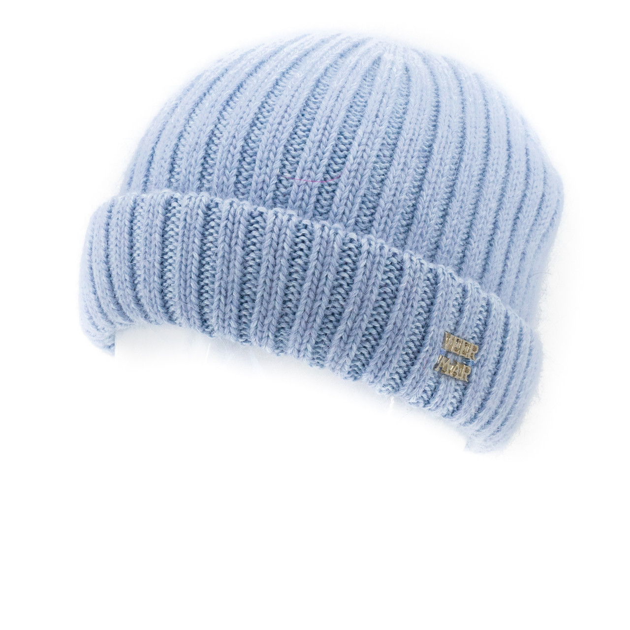 Шапка женская Veer Mar Лайма  светло голубая с голубым      ( SH20107-8814-199 m )