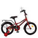 Велосипед детский PROF1 16д. Y16221 Prime,красный, фото 2
