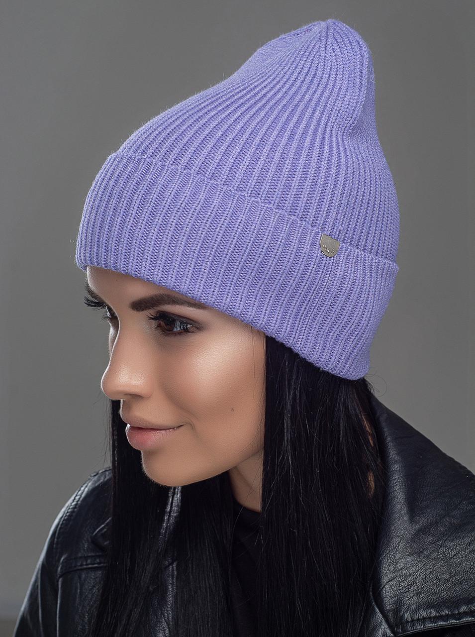 Шапка мужская Leks Йорк светло фиолетовая        ( 20757853 m )
