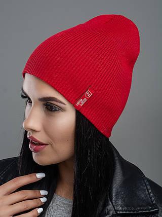 Шапка женская Leks Риана красный        ( 21067666 m ), фото 2
