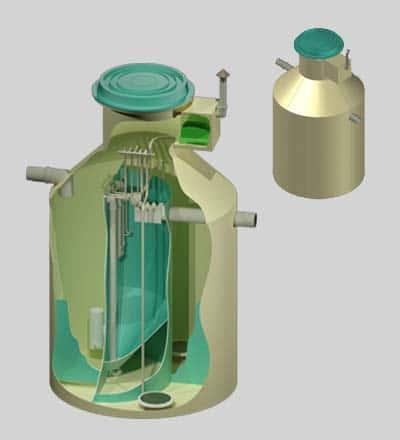 Автономна каналізація на 4 людини BioEng-SA4