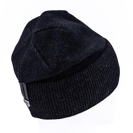 Шапка мужская Leks Икар черная        ( 21757587 m ), фото 2