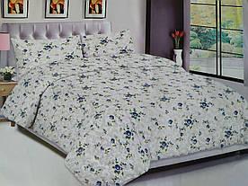 Полуторный комплект постельного белья -  Цветы