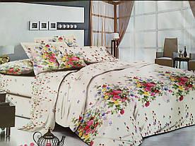 Полуторный комплект постельного белья (бязь,хлопок 80%)