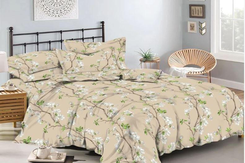 Евро Комплект постельного белья - Магнолии