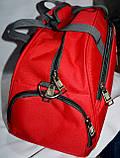 Женская дорожная и городская синяя сумка 45*25 см, фото 3