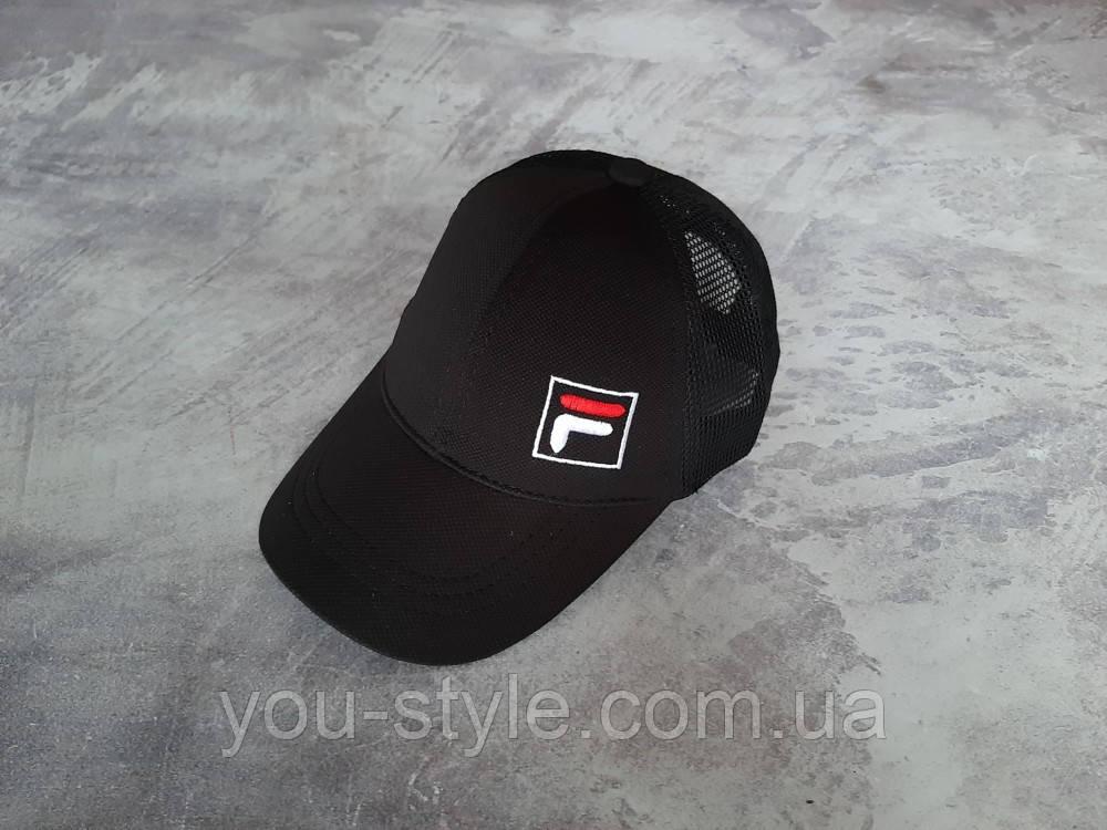 Черная кепка Fila (Фила)