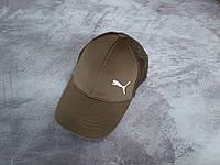 Оливковая (хаки) кепка Puma (Пума), фото 1