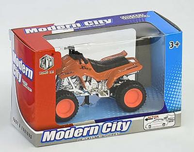 Квадроцикл Modern City металлопластиковый, инерционный, оранжевый SKL11-190030