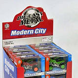 Квадроцикл Modern City металлопластиковый, инерционный, оранжевый SKL11-190030, фото 2