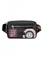 Поясная сумка Gucci из GG Supreme Night Courrier Black, фото 1