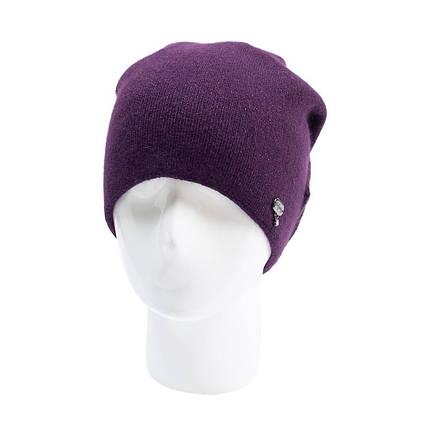 Шапка женская Odyssey Элизабет     фиолетовая     ( 43529610 m ), фото 2