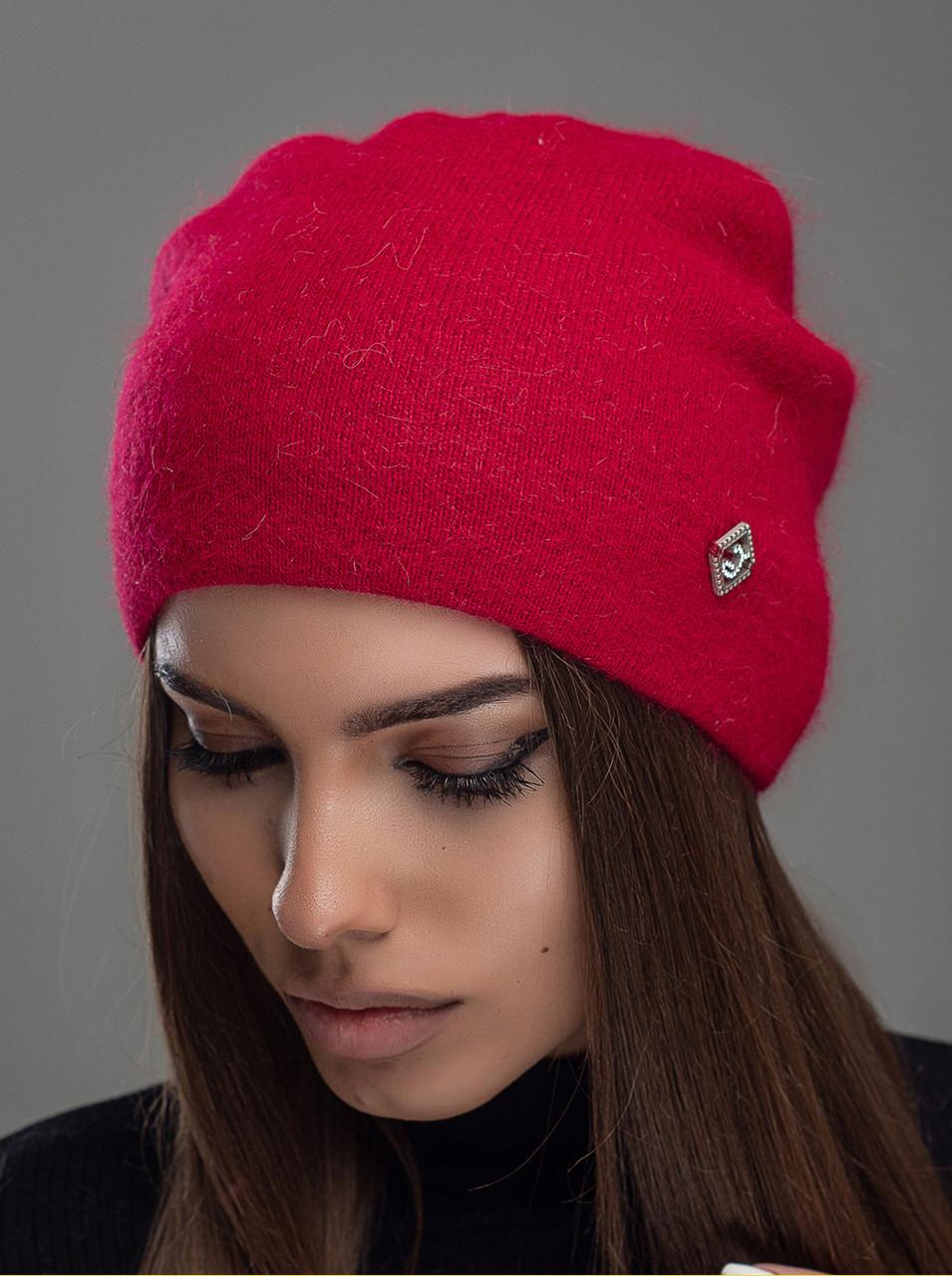 Шапка женская Leks Престиж красный         ( 24539193 m )