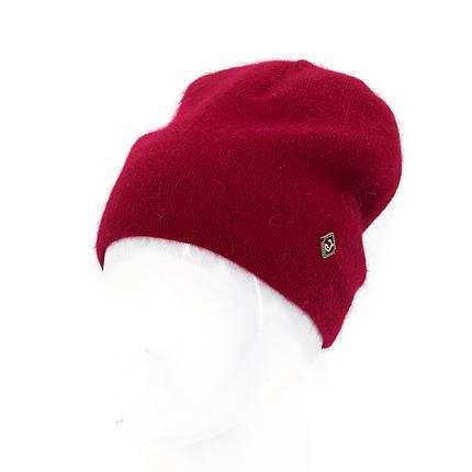 Шапка женская Leks Престиж красный         ( 24539193 m ), фото 2