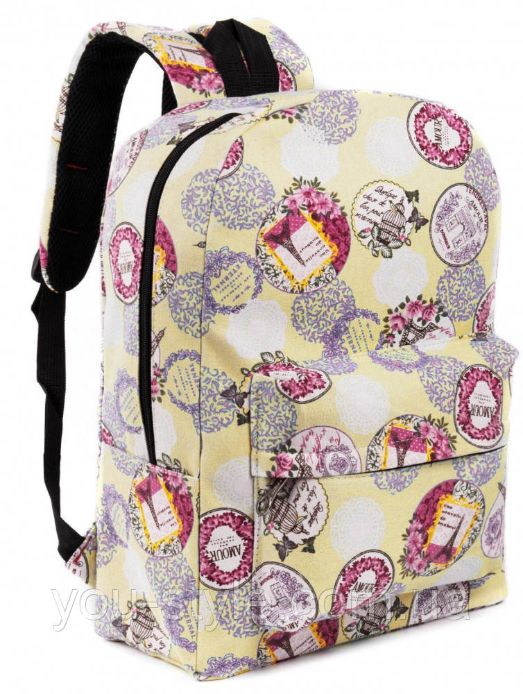 Рюкзак Pack Paris Yellow