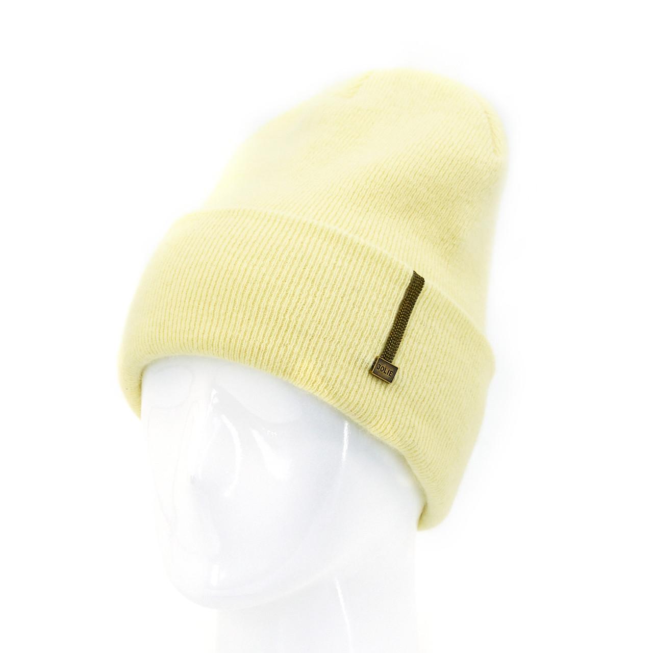 Шапка женская Leks Соренто желтый         ( 24048895 m )