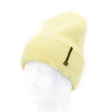 Шапка женская Leks Соренто желтый         ( 24048895 m ), фото 2