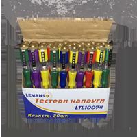 Отвертка - индикатор 100-500V LEMANSO 3.0x140мм LTL10074