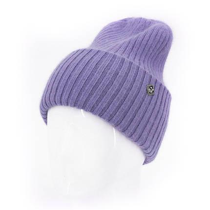 Шапка женская Leks Миндаль светло фиолетовая         ( 24029780 m ), фото 2