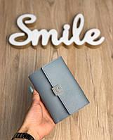 Женский кошелек мини голубой, фото 1