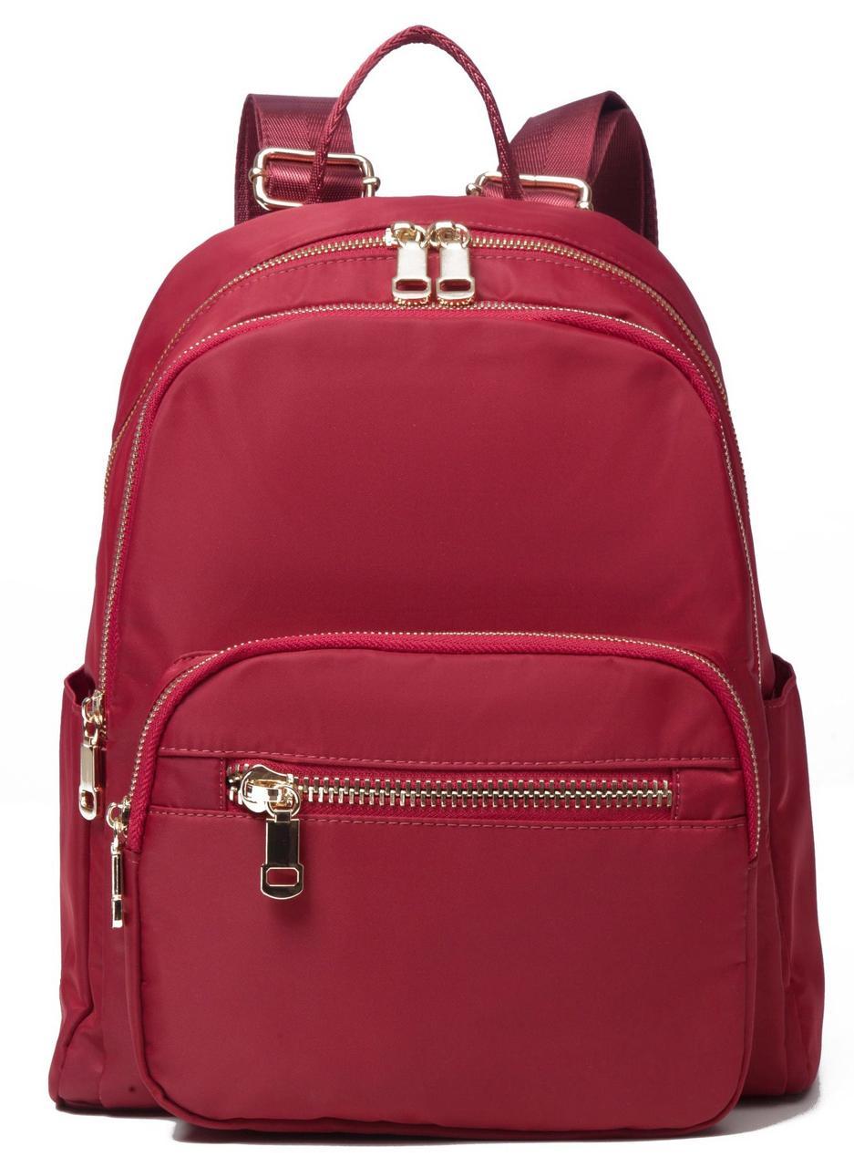 Рюкзак женский нейлоновый Vintage 14862 Красный