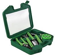 Садовые инструменты набор с чемоданом 5 в 1 23*22*6 см