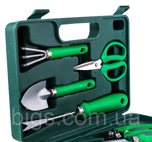 Набор садовых инструментов портативный с чемоданом 7 в 1, 30*20*7 см
