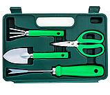 Набор садовых инструментов портативный с чемоданом 7 в 1, 30*20*7 см, фото 2