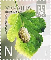 11.01.2013  «Шелковица белая», номинал - «N»