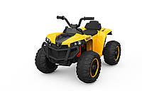 Детский электро-квадроцикл T-738 желтый