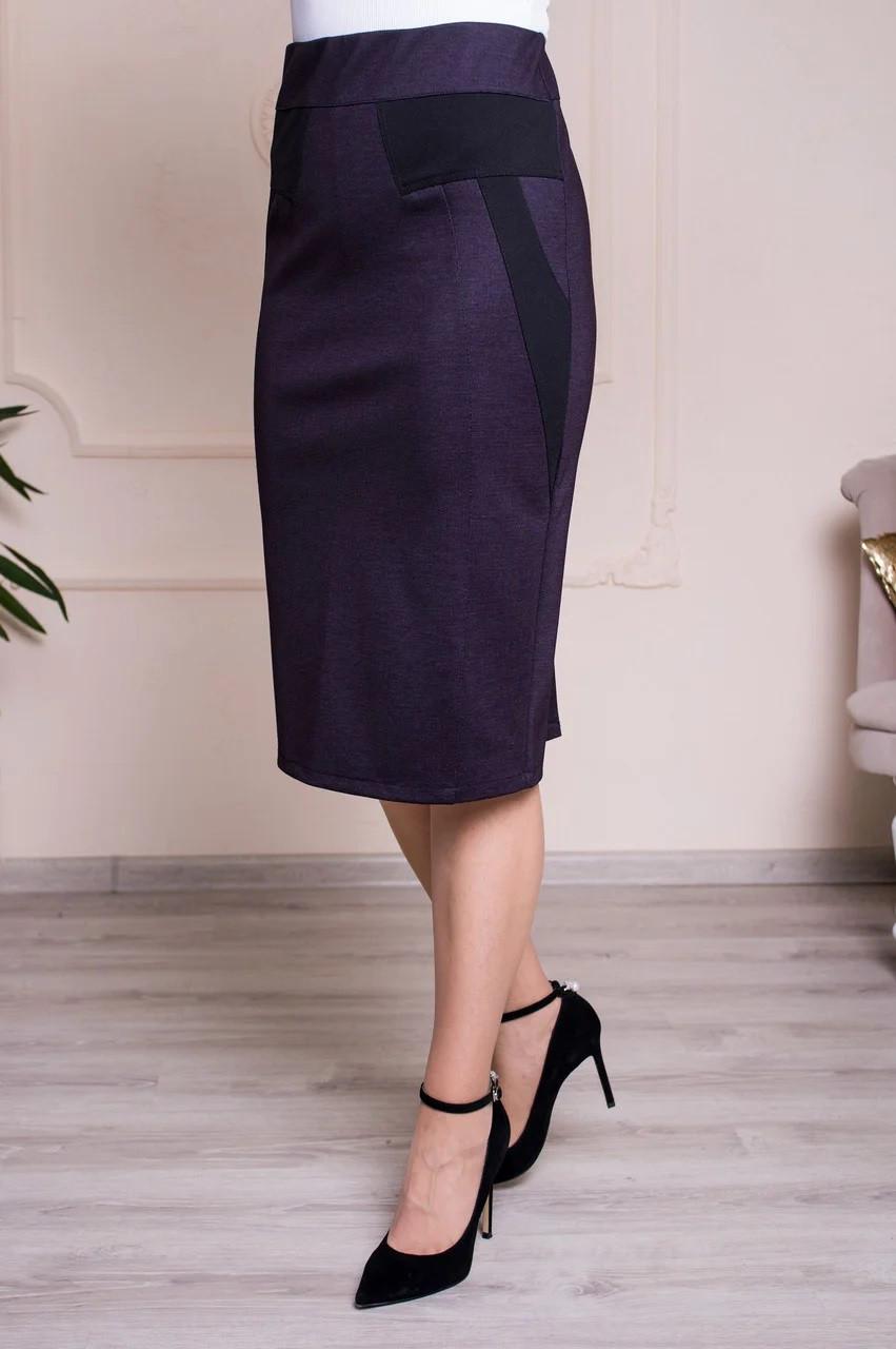 Спідниця жіноча великого розміру пояс на резинці