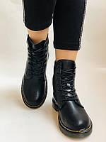 Dr.Martens. Зимние ботинки. Натуральная кожа. Высокое качество. Р. 36.39 Vellena, фото 2